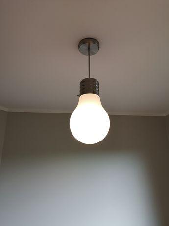 Lampa sufitowa żarówka E27
