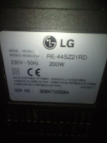 телевизор LG RE44SZ21RD