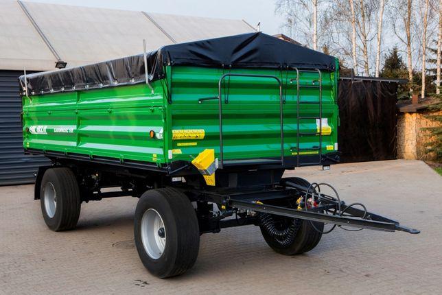 10 Przyczepa Rolnicza HL HW 3 Stronny Wywrot 6011 Ładowność 10 HW 8011