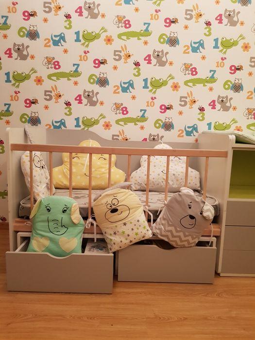 Детский манеж, кровать Красный Лиман - изображение 1