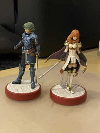 Amiibo Celica e Alm - Fire Emblem