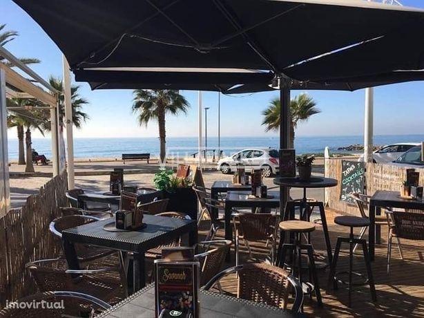 Trespasse de Snack Bar na 1ª linha de Praia em QUARTEIRA