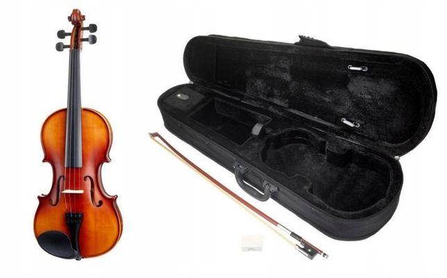 skrzypce 4/4 klonowo-świerkowe, GWARANCJA 3 LATA