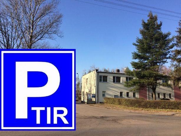 Parking TIR Częstochowa autobusy ciężarowe dostawcze ul. Bór