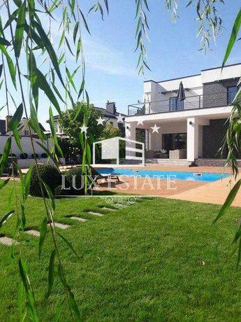 БЕЗ%,Продажа нового дома(236м) с бассейном и выходом к озеру,с.Круглик