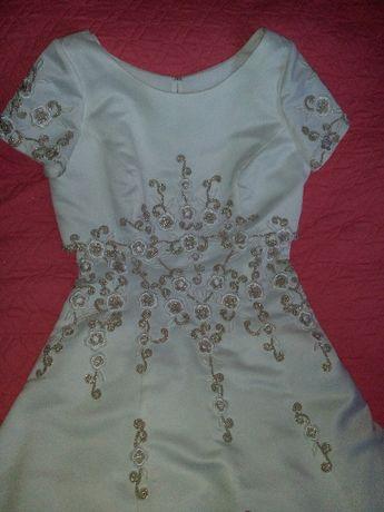Платье свадебное F.Y. с накидкой