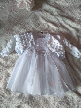 Sukienka na chrzest
