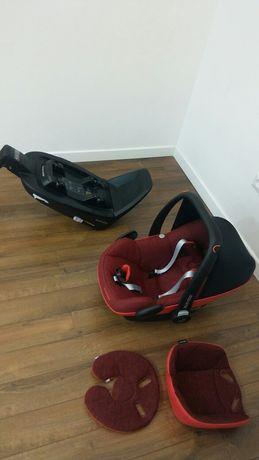 Fotelik samochodowy maxi-cosi z izofixem od narodzin do 12 kg