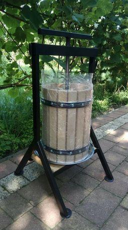 Prasa do owoców wyciskarka sokownik wino sok 15l nie robix