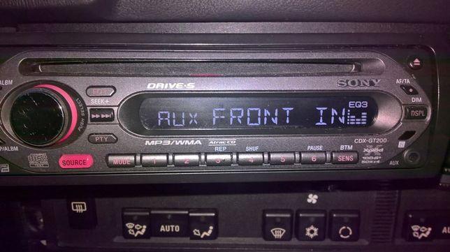 SONY Radio AUX/Mp3 Xplod Cdx Gt200