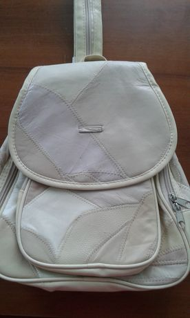 Рюкзак натуральная кожа ( кусочки) 33*25*10