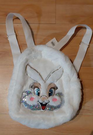 Plecak pluszowy dla dziewczynki