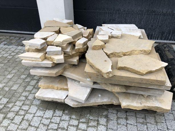 Kamień ozdobny, łom, dolomit, piaskowiec