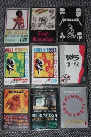 Okładki kaset magnetofonowych 9 sztuk