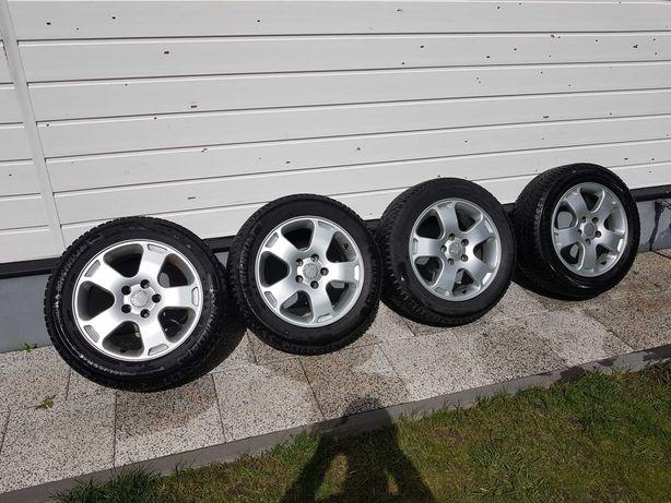 """Alufelgi 16"""" 5x112 BDB Stan+ opony zimowe Michelin 205/55R16  AUDI,VW"""
