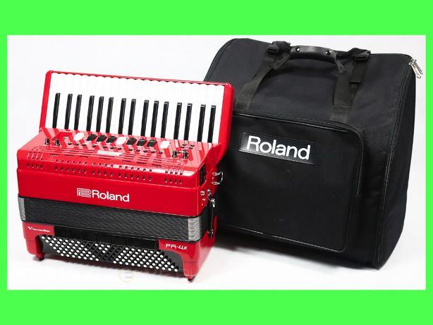 ROLAND FR-4X czerwony AKORDEON CYFROWY + TORBA / Sklep / / / /