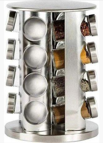 Подставка карусель для специй Spice Carousel, 16 емкостей Круглая