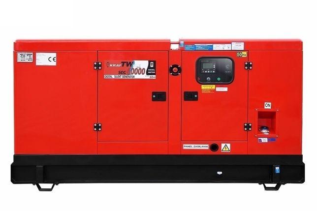 Дизельний генератор 60кВa 3фаз SILENT KRAFTWELE GERMANY- Доставка