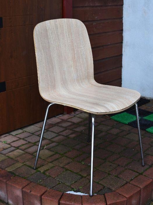 Krzesło, krzesła, kolor bukowy. Poznań - image 1