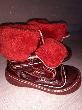 Зимние ботинки  Panda, 24 р.
