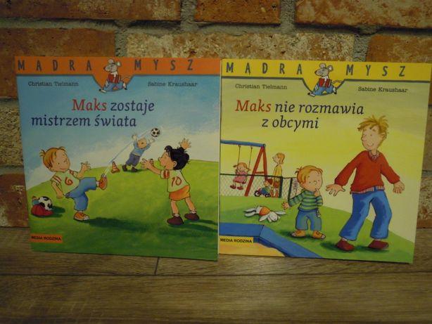 Seria Mądra Mysz MAKS idzie do przedszkola