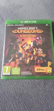 Nowa!Minecraft dungeons hero edition na Xbox one