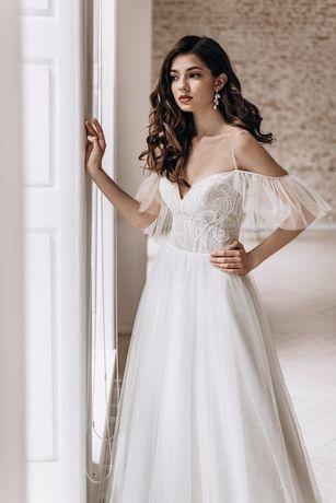 Przepiękna suknia ślubna CRYSTAL | SPRAWDŹ !