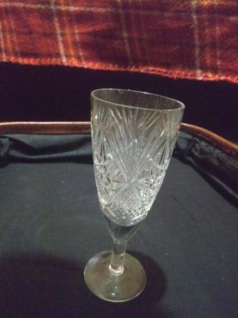 Хрустальные стаканы, разные