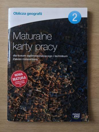 Oblicza geografii Maturalne karty pracy 2 zakres rozszerzony