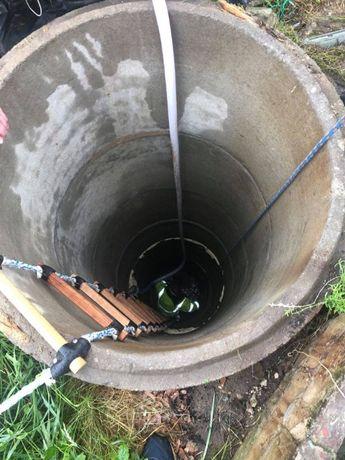 Czyszczenie, odmulanie studni