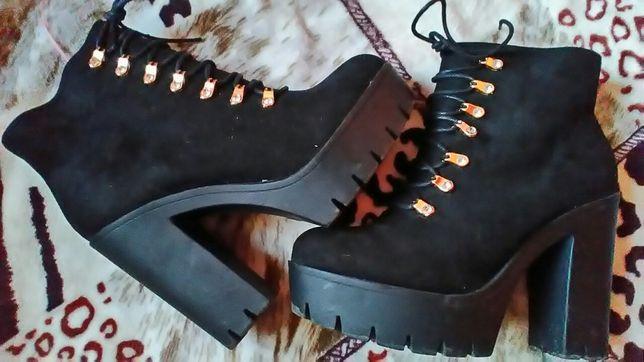 Ботинки 40р отл сост