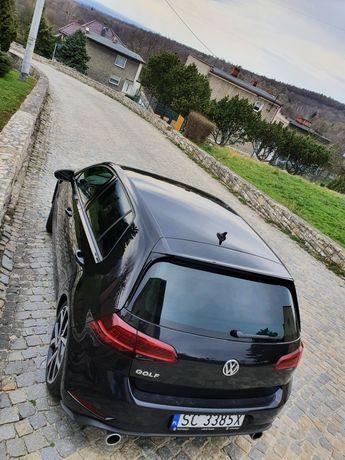 VW golF7 black tsi 1.5 150KM 2018