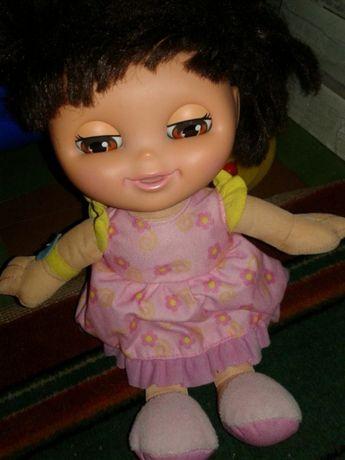 Интерактивная кукла Даша-следопыт оригинал Fisher Price