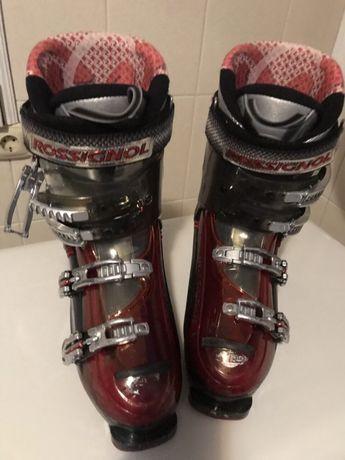 Лижи и ботинки
