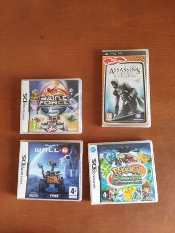 Jogos PSP e NintendoDS