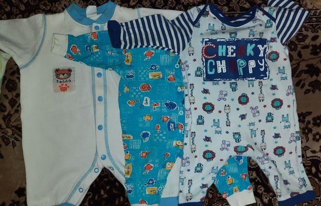 Детская одежда (пакет), боди, человечек, кофта, штаны, комбинезон