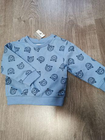 Urocza bluza dziecięca Sinsay 74 Nowa Błękitna