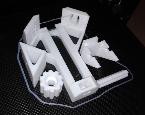 Wydruki na drukarce 3D z wytrzymałego materiału PLA - 48h Poznań