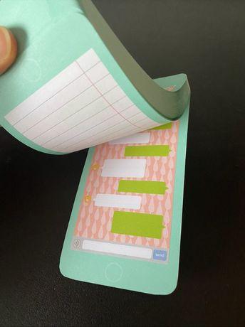 Kolorowy notes notatnik jak wyświetlacz telefonu z Norwegii