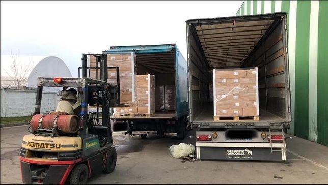 Доставка товарів / вантажів з Польщі.
