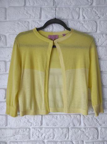 Żółty sweterek Ted Baker, rozmiar S
