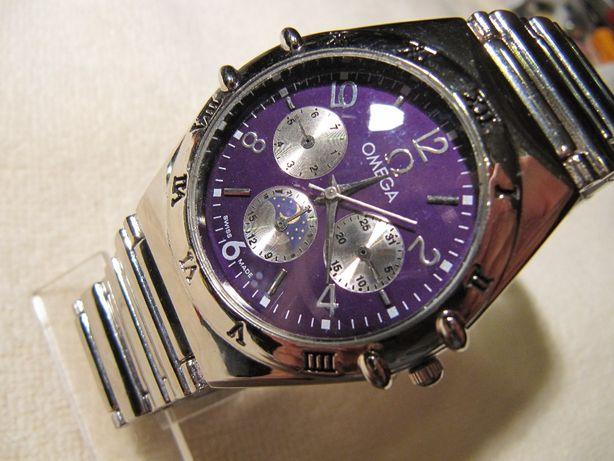 Часы OMEGA в коллекцию, новые, кварцевые, механизм EPSON Япония