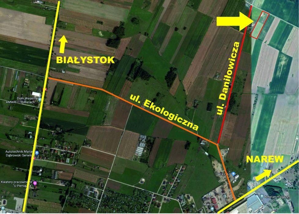 Działka z warunkami zabudowy Bielsk Podlaski - image 1