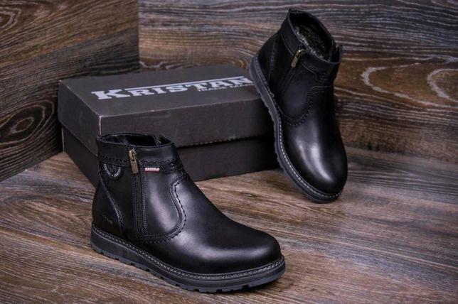 Kristan ботинки ВІасk сІаssіс 704 Крутые Мужские зимние кожаные
