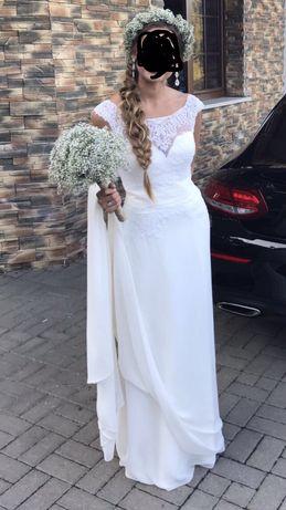 Suknia ślubna AZARIA - NABLA 36/38 Boho Vintage