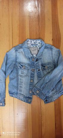 Джинсовый пиджак Next. 4-5 110см