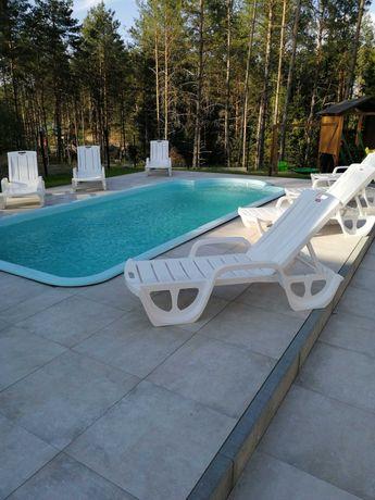 Październikowe weekendy na Kaszubach. Domek z sauną i banią ruską.