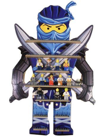 Półka na ludziki lego klocki figurki