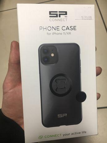 Etui na telefon SP CONNECT do IPHONE 11/XR Czarne NOWE