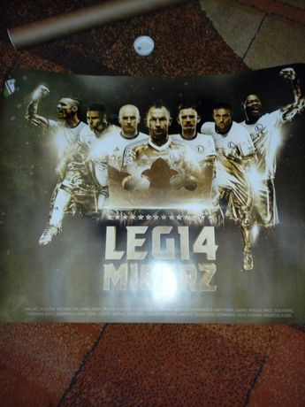 Plakat Legia Warszawa Mistrz
